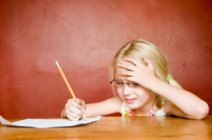 Frustrated with writing- istock Becky Rockwood