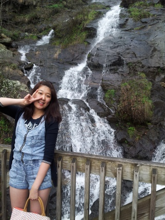 AT the Waterfall!