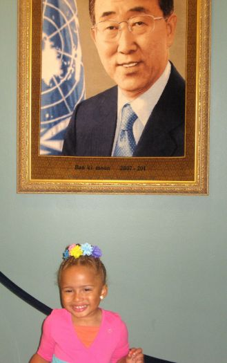 Scholar and Secretary General Ban ki moon